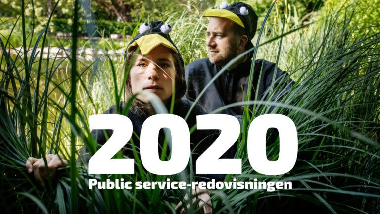 UR har lämnat in public service-redovisning för 2020