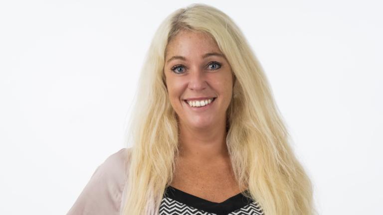 Hallå där… Malin Broberg, lärare för sjuor som jobbar med skrivstyrka